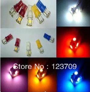 12V 5W New Design T10 w5w LED(China (Mainland))