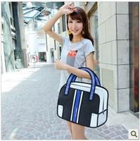 2013 Hot-selling cartoons bag 2d stereo school bag 3d handbag women's Creative handbag/shoulder bag