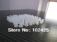 1000 pcs DIY CISS tube bend sleeve Hollow plug, transparent rubber for CISS cartridges Free Shipping