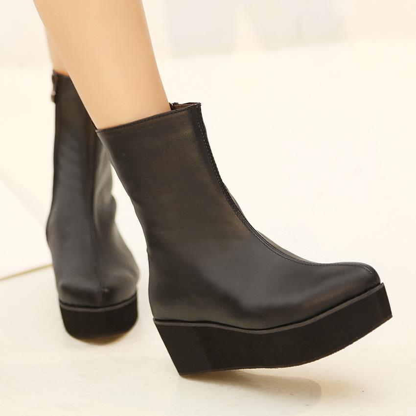 aliexpress popular cheap platform boots in shoes