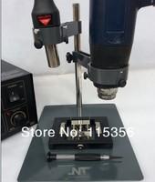 free shipping NT-F204 hot air heat gun holder with Fixtures for SMD SMT soldering desoldering rework platform