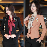 Hot Fashion Womens Lapel One Button Slim Suit Blazer OL Jackets Coat Outerwear