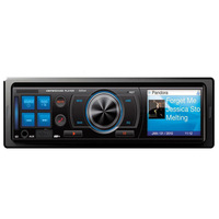Newest Car Audio Stereo In Dash Fm Receiver With Mp3 Player USB SD Input AUX Receive freeshipping