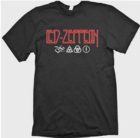 Led Zeppelin Zoso Jimmy Page Plant Four Runes Symbols Houses Of The Holy Shirt Bands Rock Latex Shirt