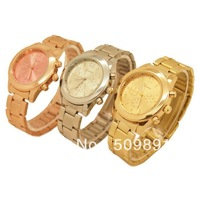 GENEVA Metal Classic Boyfriend Designer Chronograph Style Ladies Man Watches With Watches Box For Freind Gift,Mom Father Gift