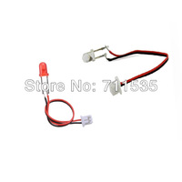 V959-13 Red + White LED Light Wire Spare Parts For WLTOYS V959 V969 V979 V989 V999 4CH 2.4GHZ RC Helicopter UFO Quadcopter