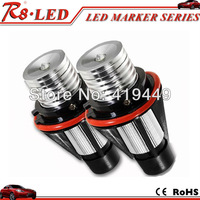 1 Pair 5w each one led marker angel eyes for bmw e39 e60 X5 white color good quality