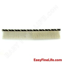 2014 Real Time-limited >6 Months Metal Mascotas Dogloveit High Quality Comfortalbe Single Row Comb for Pet Dog - Medium