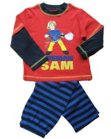 Brand mothercare 2013 baby children wear fireman sam / home wear long-sleeved suit pants boys and girls clothes free shipping