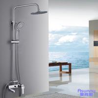 Fashion copper bathroom shower faucet shower head set