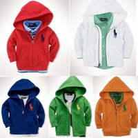 2014 new paul male female child outerwear casual with a hood sweatshirt free shipping