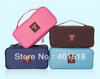Multifunctional Germproof Travel Underwear Bra Storage Bag Makeup Handbag Cosmetic Bags & Cases 2pcs