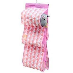Double faced plus size transparent window bags storage bag plaid bags bag 100g(China (Mainland))