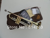 Wholesale Bach TR-600 type small series of brass instruments cupronickel in section inventory Bb trumpet