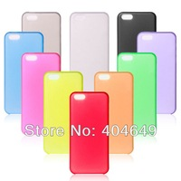 Ultra thin case for iphone 5c .wholesale--High quality 0.5mm Ultra thin PC Plastic hard case for iphone 5c Free shipping