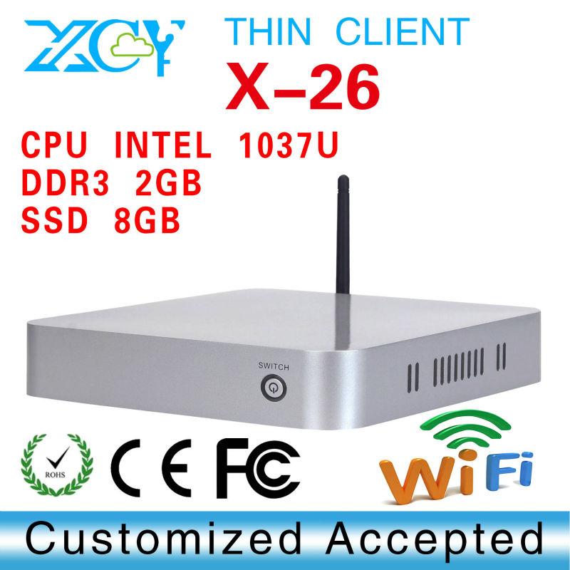 Promotional price!!! desktop min pc mini-itx case INTEL C1037U Celeron Dual-core 1.8GHz home computer windows XP(China (Mainland))