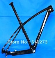 """FR-216 Full Carbon UD Glossy 29er Mountain MTB  Bike 29"""" Wheel  Frame  + Seatpost + Headset"""