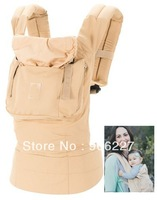 Free shipping BEIGE original baby carrier, fashion baby sling backpack and carriers