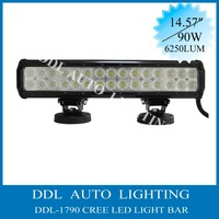 2013 NEW 15'' 30pcs*3W 90W CREE LED Light bar Offroad,LED Light bar for Truck offroad,spot flood combo Free Fast Shipping