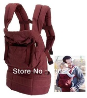 Free shipping  original organic baby Carrier - Cranberry with beige or chocolate lining