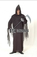 Free shipping Halloween party clothes cosplay clothes adult sickle clothes