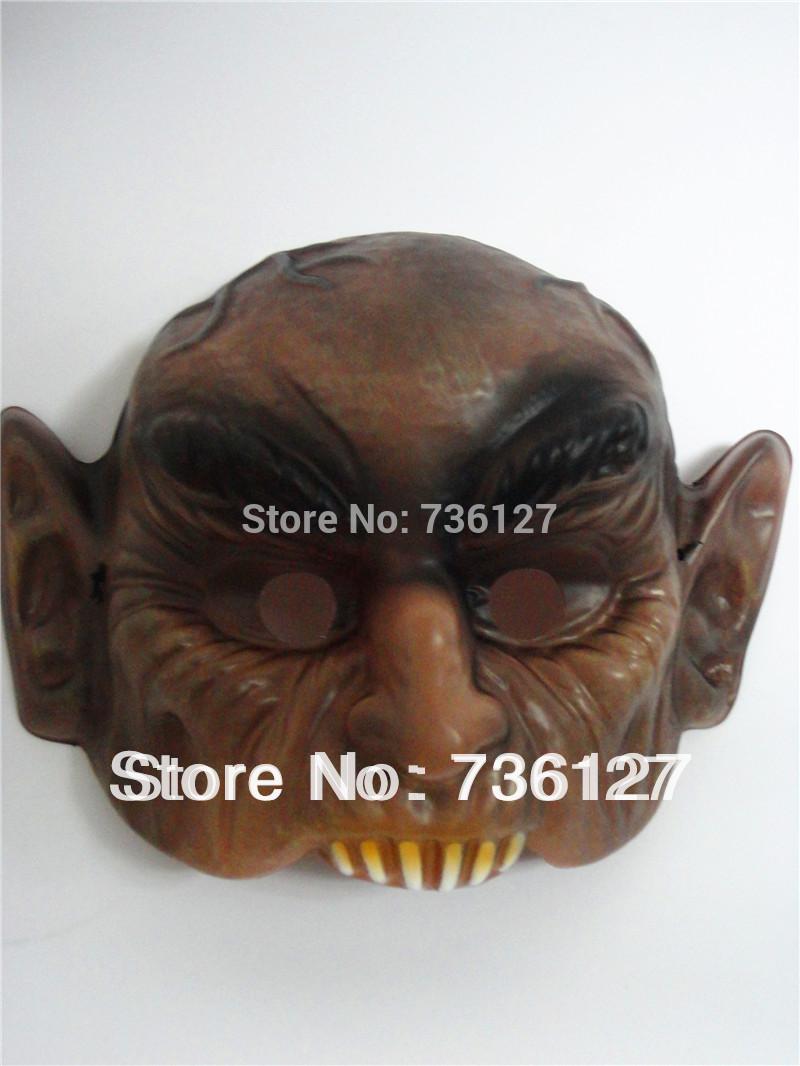 Monstro diabo Horrible crânio Zombie máscara fantasma, dia das bruxas engraçado outra parte adereços(China (Mainland))