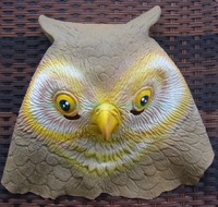 High Quality Halloween Owl Designer Crafts High Quality Latex Free Shipping Animal Masks Carnival Bird Cosplay Full Face Costume