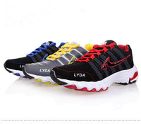 2013 spring and autumn male low sport shoes Men gauze breathable running shoes slip-resistant wear-resistant shoes ultra-light