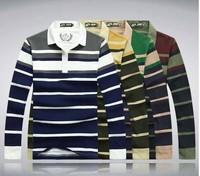 2014 new hot fashion Mens leisure T shirt fashion slim Long sleeve  T shirt men's Casual turn down  collar shirt  78