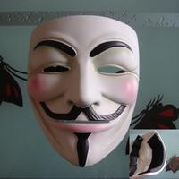 Mask halloween cos guy fawkes mask helmet resin handmade