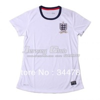 2014 Top grade quality England women jerseys,Free shipping new season England lady jerseys home white