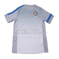 Free shipping 100% Polyester 2013 14 Thailand quality Inter Milan training jerseys grey Inter Milan training shirts