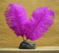 free shipping !!!hot on sale#purple ostrich feathers & quantity optional 15-20cm!!!