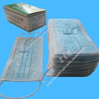free shipping Masks dust mask disposable mask non-woven medical face masks