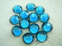 Free shipping 1440 pcs  DMC 4mm color hot fix rhinestone transfer designs applique for dresses DIY