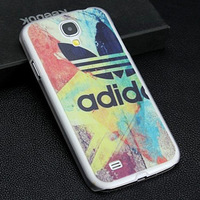 Free shipping Colorful Luxury With Case Cover for S4 , cell phone Scrub case for Samsung Galaxy SIV S4 I9500+free shipping