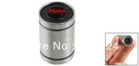 19mm x 10mm x 29mm Silver Tone LM10UU Linear Motion Ball Bearings