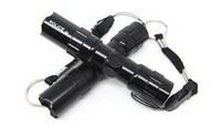 Car led car flashlight emergency light waterproof super 5 number battery small flashlight auto supplies