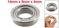 Silver Tone 14mm x 8mm x 4mm Shield Ball Bearing