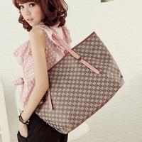 2014 brief zipper big bag all-match fashion women's handbag messenger bag