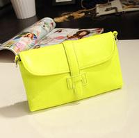 2014 autumn vintage fashion candy color mini bag one shoulder cross-body women's handbag bag