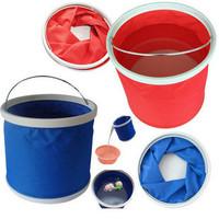 Car bucket car folding bucket car bucket car wash supplies folding portable bucket