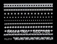 3D Nail Art Lace Series Nail Sticker