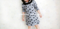 Noble ladies french perfume 2013 autumn high quality girls clothing long-sleeve dress