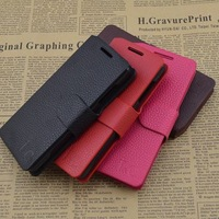 Top Quality (1 pcs)  Series leather case for Lenovo A670 cell phone Classic design