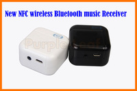 New Arrival Hot 3.5mm Audio Stereo Music NFC Wireless Bluetooth Music Receiver For iPhone For Samsung