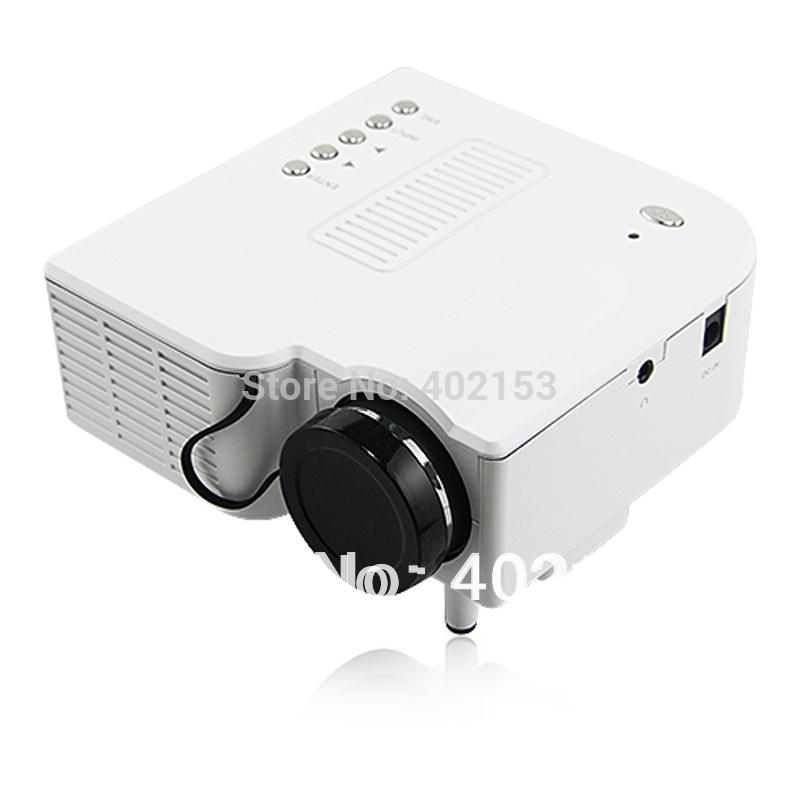Brand New UC28 PRO HDMI Portable Projector 320*240 VGA AV SD USB Slot Remote Control Wholesale Free Shipping #161041(China (Mainland))