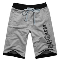 Shirt 2013 casual shorts male summer sports pants Men knee-length pants beach pants shorts male plus size