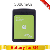 Original JIAYU G4 3000mAH battery+ Original charger set for JIAYU G4 MTK6589T Android phone  free shipping