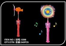 Dollarfish music windmill glow stick neon windmill music light stick electric music toy 0398(China (Mainland))